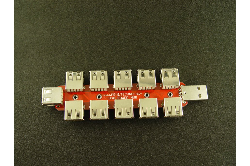 USB power only HUB 10+1 1