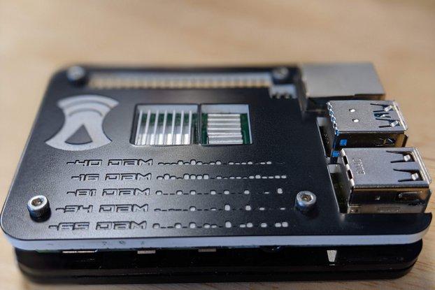 Raspberry Pi 4 Slim Case