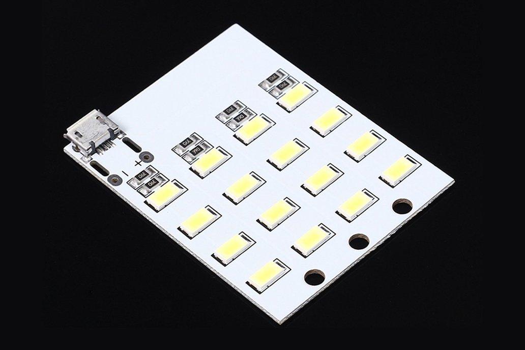5pcs Micro USB 5730 SMD LED Emergency Light(12510) 1