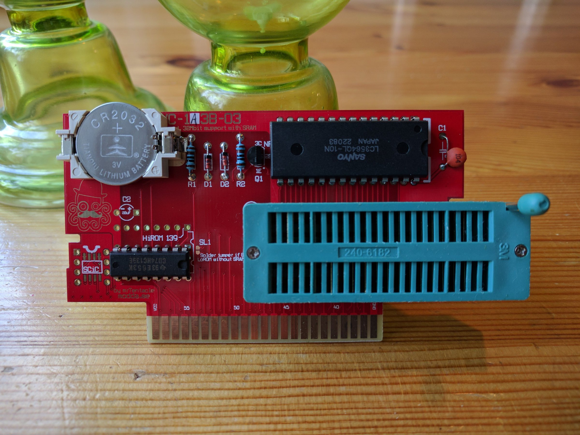 Snes Repro Pcb Build Your Own Carts From Mrtentacle On Tindie How To Make Circuit Boards The Easy Way 4