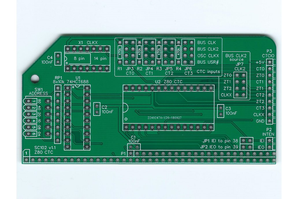 SC102 Z80 CTC Board for RC2014 1