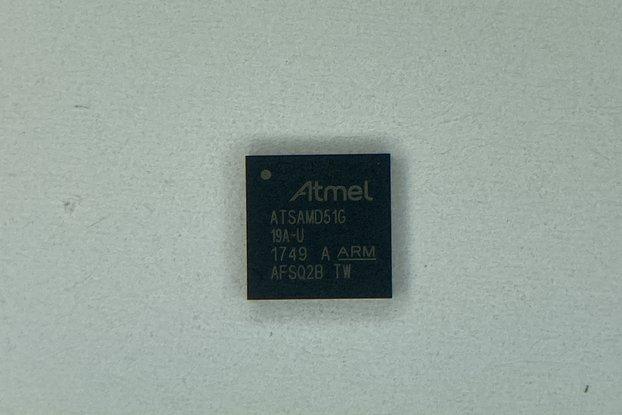 ATSAMD51G19A-MU Microcontroller Atmel / Microchip