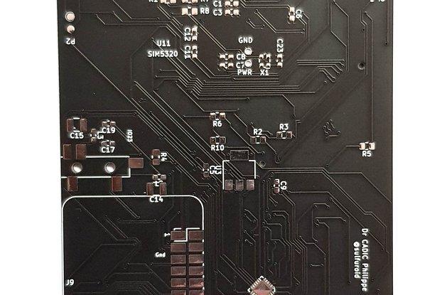 BLAK-RPI LONG PCB