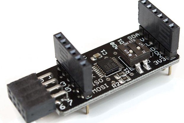 ADC-X 8-channel 8bit I2C Analog Digital Converter