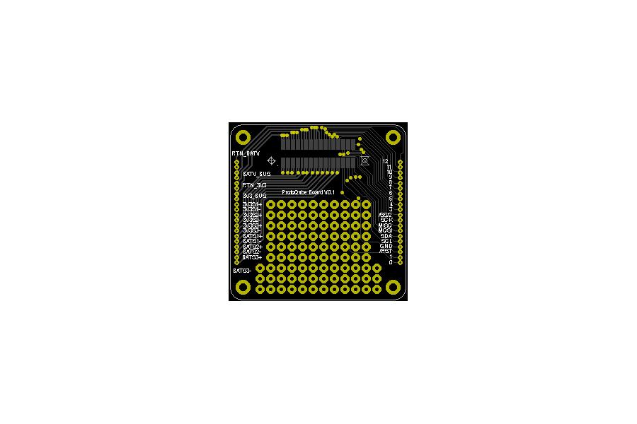 ProtoQube - PQ60 PocketQube Breakout Board