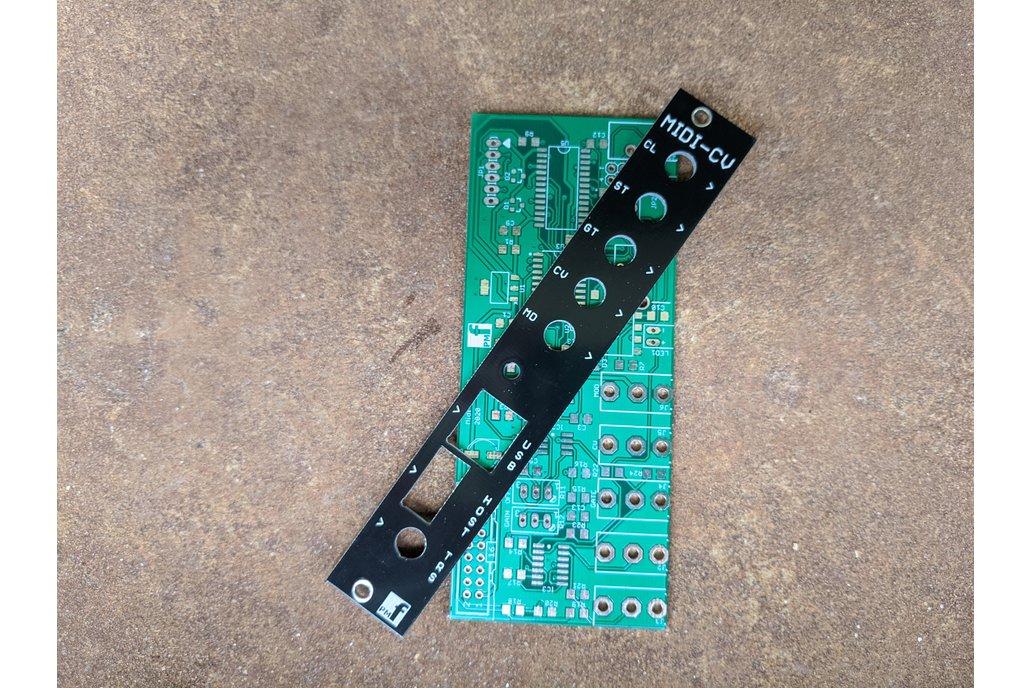 Slim MIDI-CV Converter (Eurorack PCB Set) 1