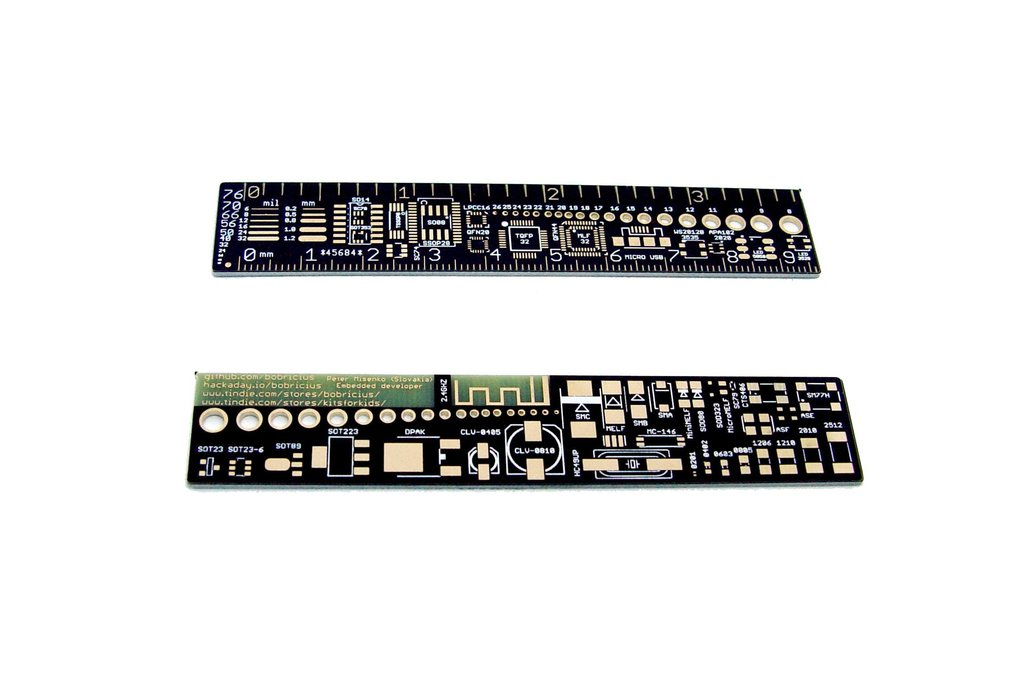 PCB Reference Card Ruler