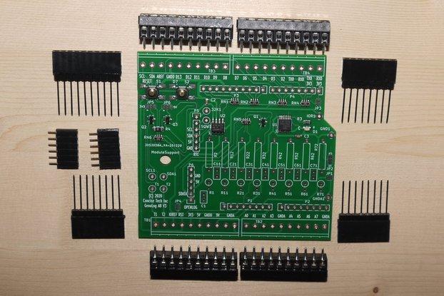 GenuLog Data Acquisition, Signal Processing Shield