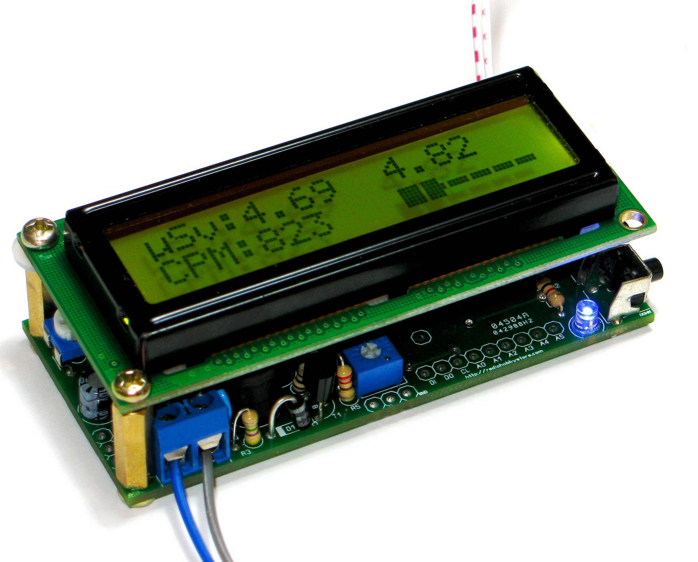 DIY Arduino IDE Geiger Counter Kit with UART log from RH ...