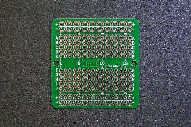 High-density protoboard