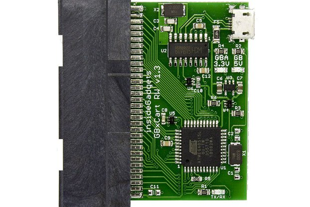 GBxCart RW (Gameboy/GBC/GBA Cart Reader/Writer)