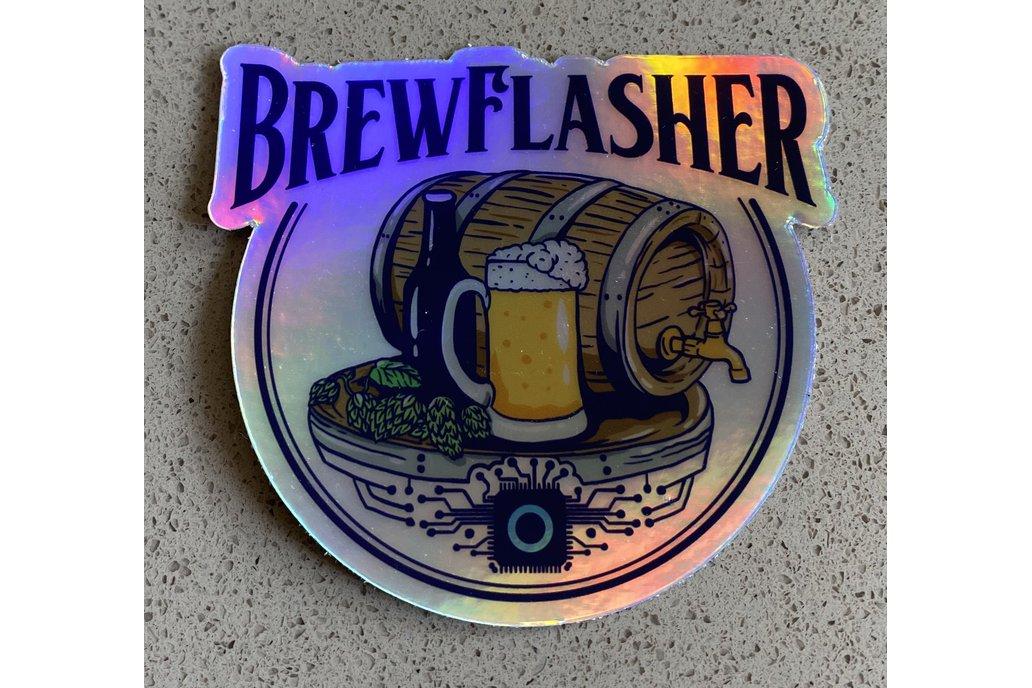 BrewFlasher Sticker 1