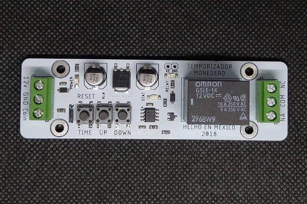 Timer module for vending machine