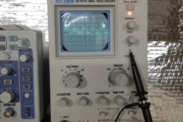 ATTEN AT7016 10MHz Analog Oscilloscope