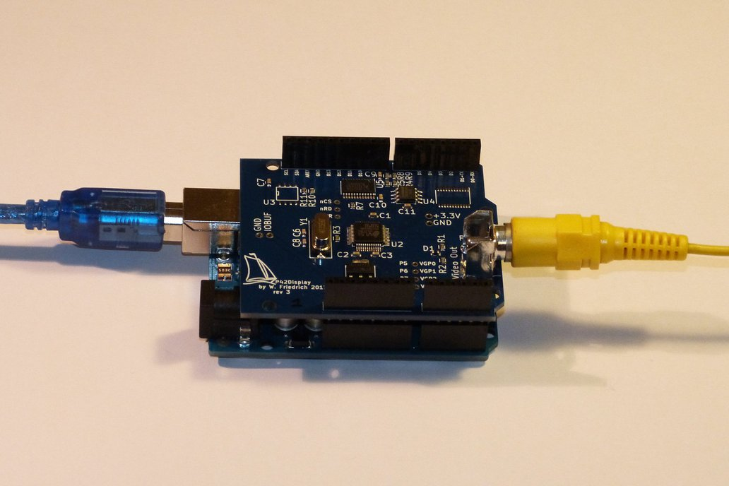 NTSC/PAL Video Display Shield for Arduino 4