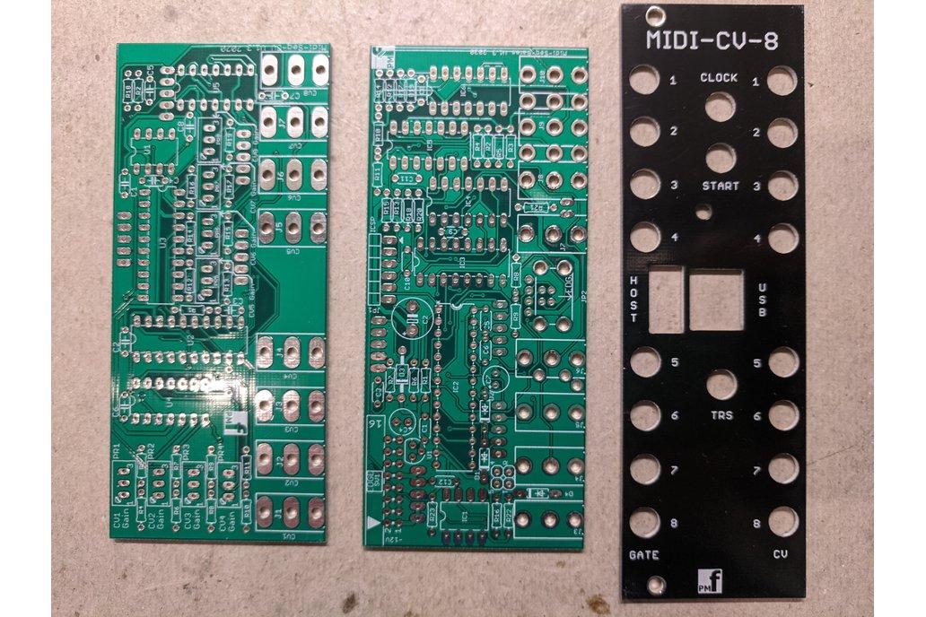 8 Voice MIDI-CV Converter (Eurorack PCB Set) 1