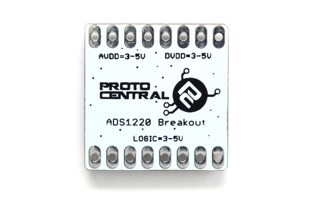 ADS1220 24-bit, 4-channel Low noise breakout board 4