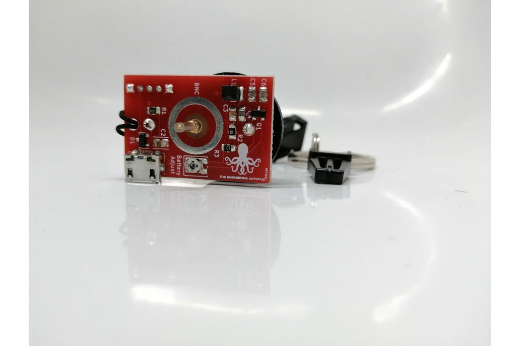 Oscilloscope Tester Keyring + battery 1