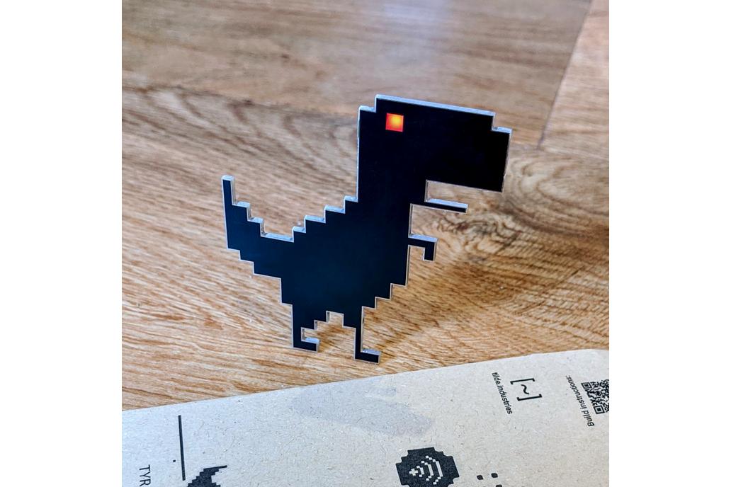 Tyrannopixelus Rex pin/SAO kit 1