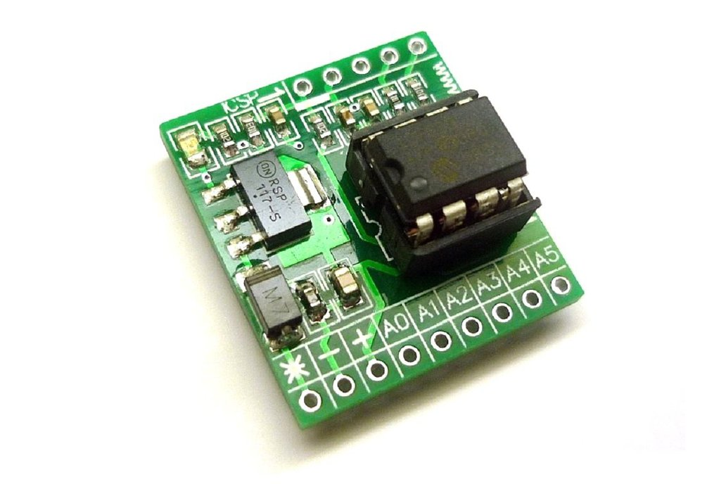 iCP07- Microchip 8-pin PIC12 IO Development Board  1