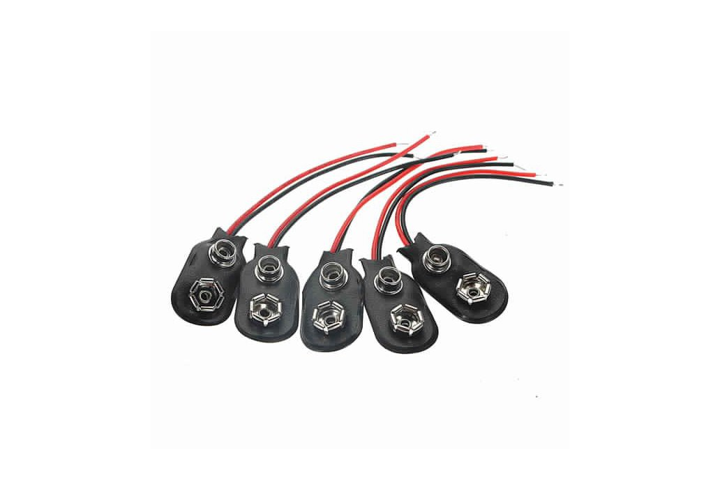 9Volt Battery Clip Connectors 9V 4