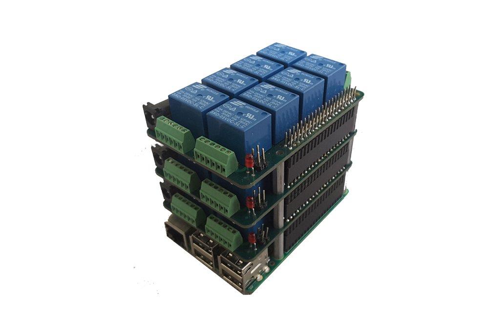 Mega-IO Expansion Card for Raspberry Pi/Zero 3