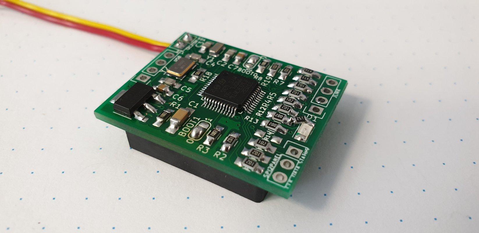 assembled module