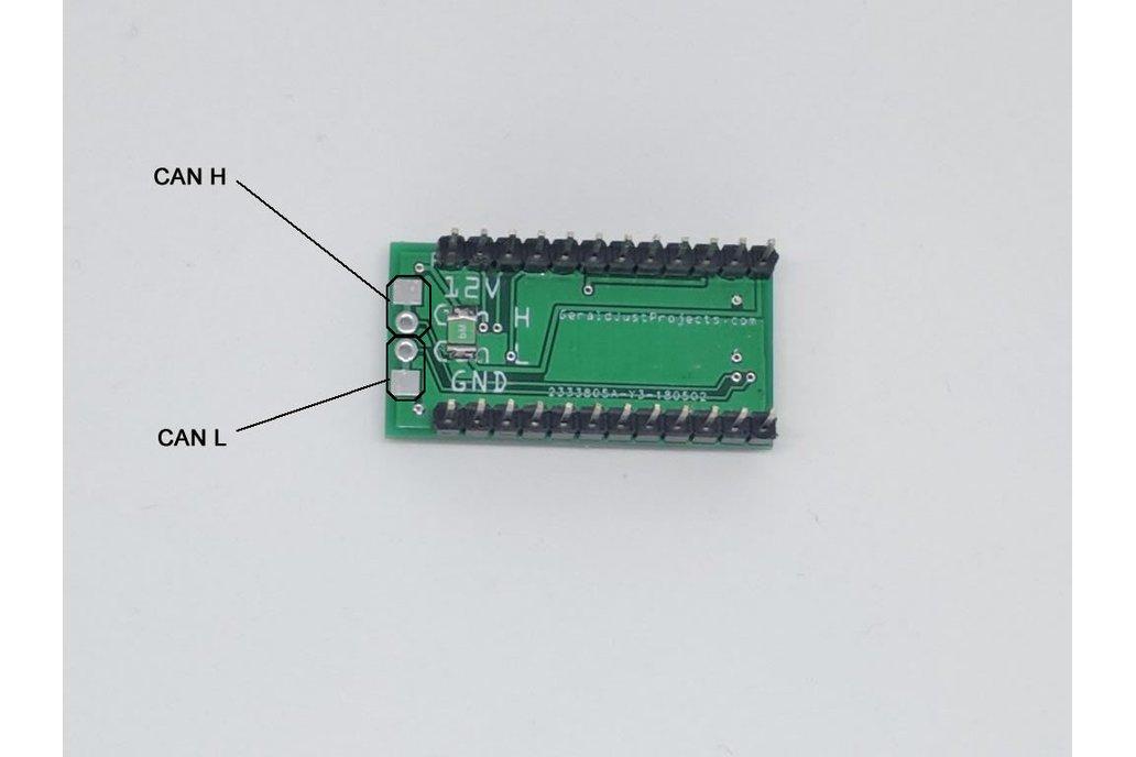 MCP2515 CAN Bus Shield for Arduino Pro Mini/Micro 2