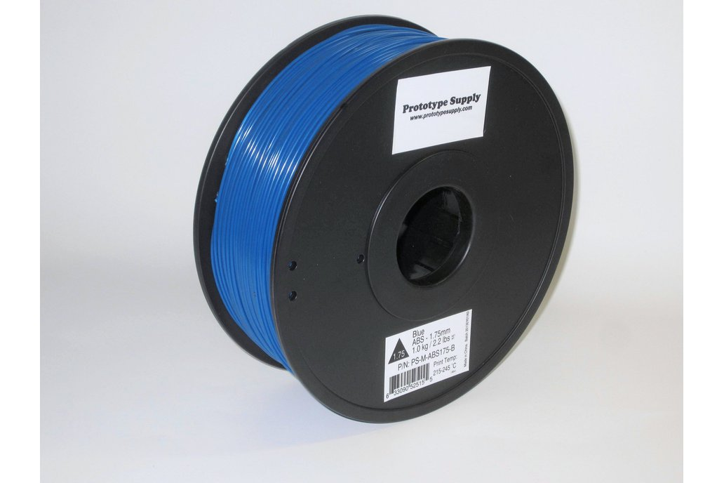 ABS 3D Filament (1.75 mm, 1 kg), 12+ colors! 2