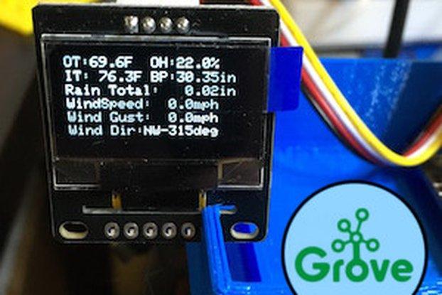 Grove 128x64 I2C OLED Board-Arduino/ Raspberry Pi