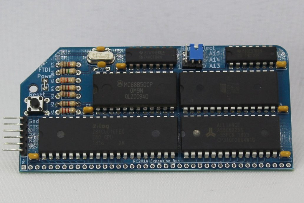RC2014 Micro - Single Board Z80 Computer Kit 1