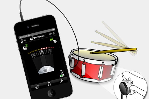 Backbeater Sensor for iPhones