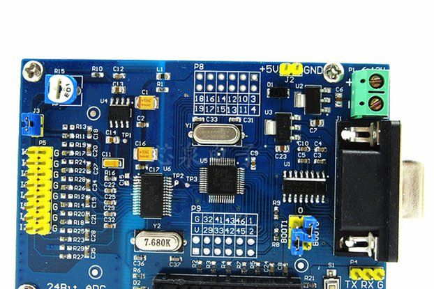 ADS1256+STM32F103C8T6 acquisition module