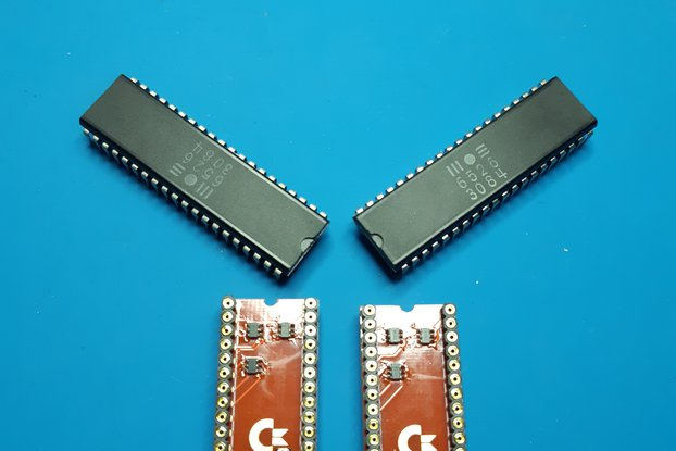 128 - 6526 FULL ESD PROTECTION Commodore 64
