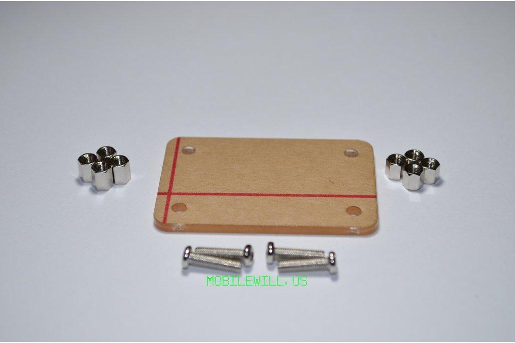 Acrylic Base for USB Tester 2