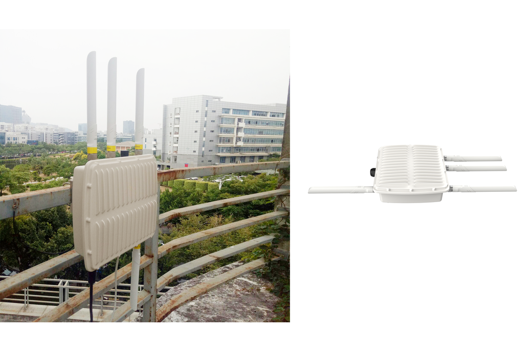 UG87 (Outdoor) Industrial LoRa/LoRaWAN Gateway 1
