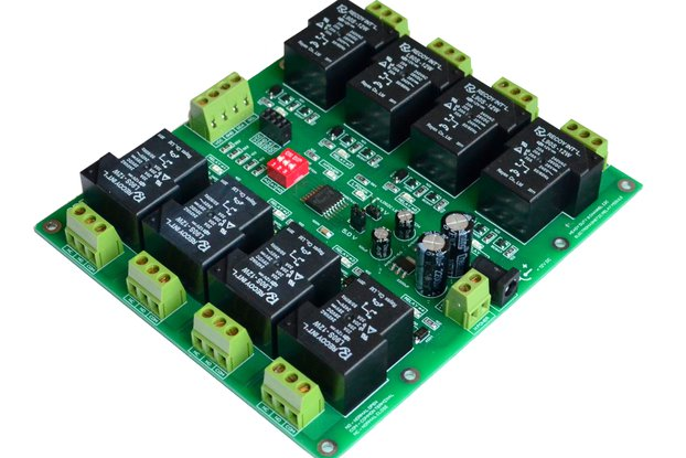 HD30A 8 Channel I2C 12V Relay 30A