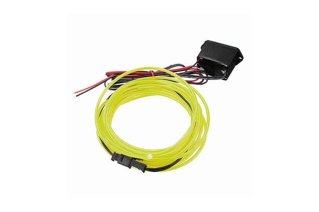 4M 10 colors 3V Flexible Neon EL Wire Light Dance  12