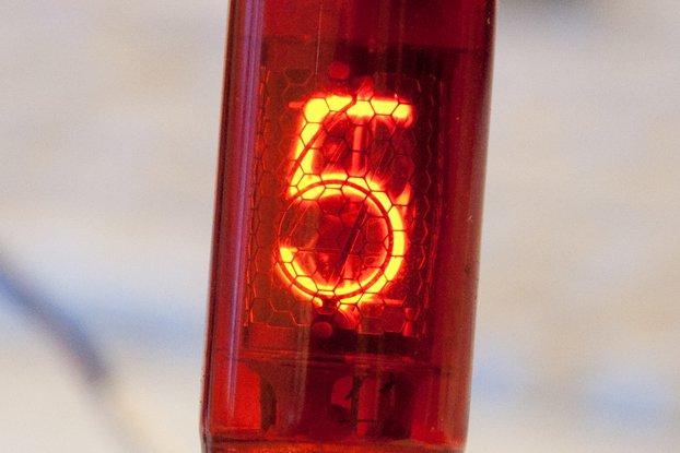 Set of 6 pcs Z570MP Nixie Tube for Nixie Clock