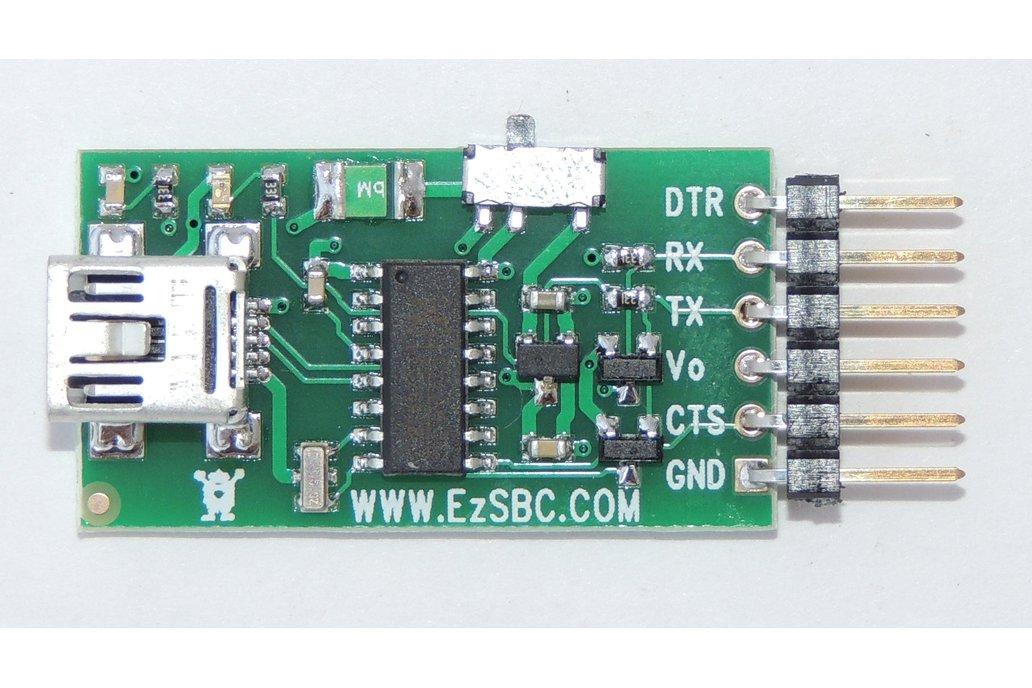 USB to Serial / UART  5V or 3.3V ($6.95)  2