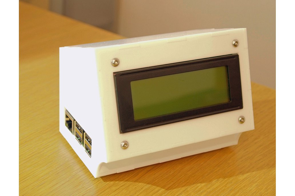 20x4, 16x2 LCD case for Raspberry Pi  and Arduino 1