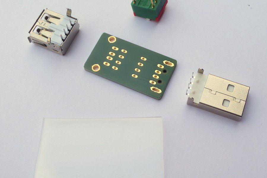 USB-Helper / USB-Switch [Kit]