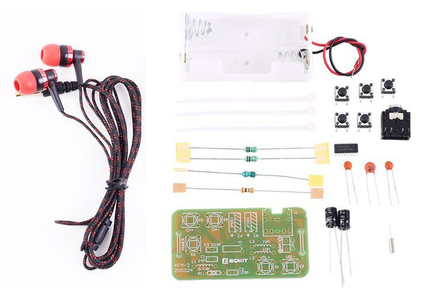 DIY Kit FM Stereo Radio Module w/ Headset_GY18043