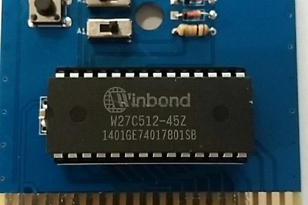 OpenC64Cart 16K - Blank Commodore 64 Cartridge