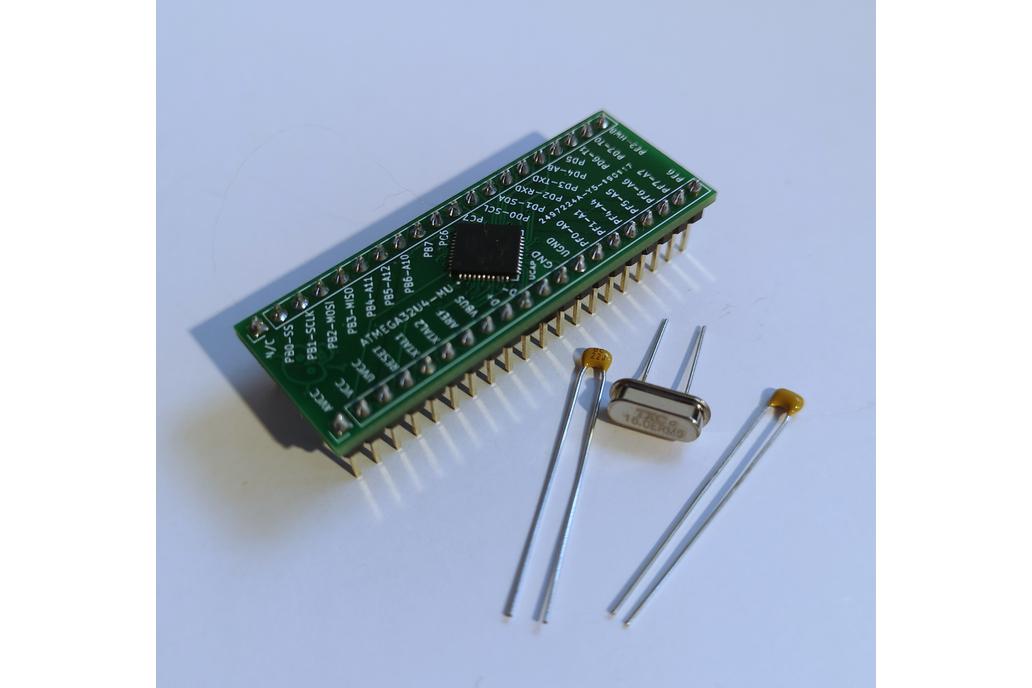 Arduino ATMEGA32U4-MU Breakout Board - Nakeduino 1