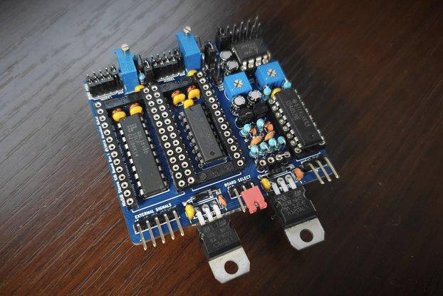 MixSID - stereo SID board for Commodore 64