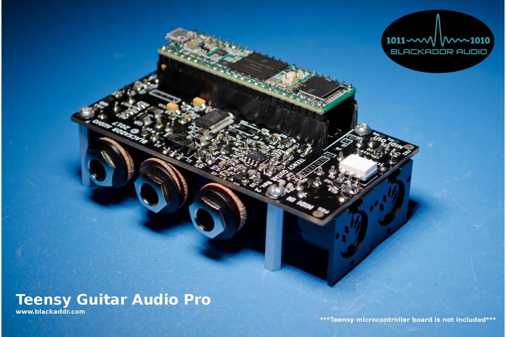 Arduino Teensy Guitar Audio Shield 2