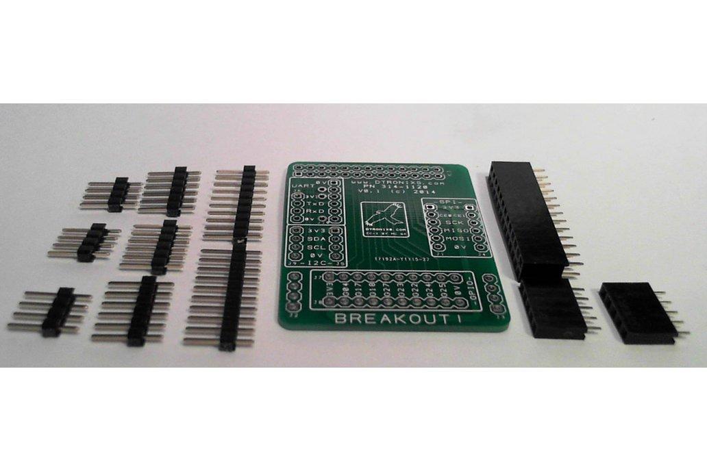 Raspberry PIIO - MiniPIIO Breakout! add-on board - Kit Only 1