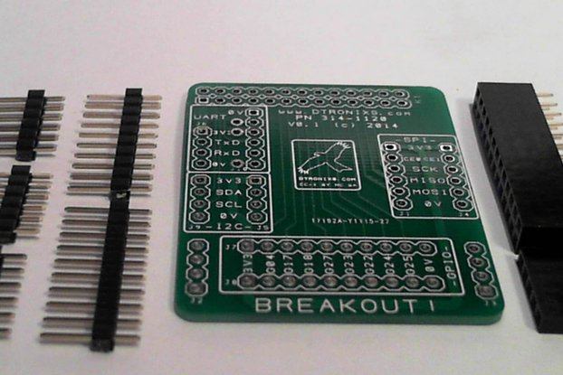 Raspberry PIIO - MiniPIIO Breakout! add-on board - Kit Only