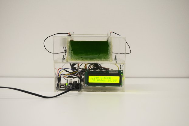Algae Catalytic Cell and Arduino Energy Monitor